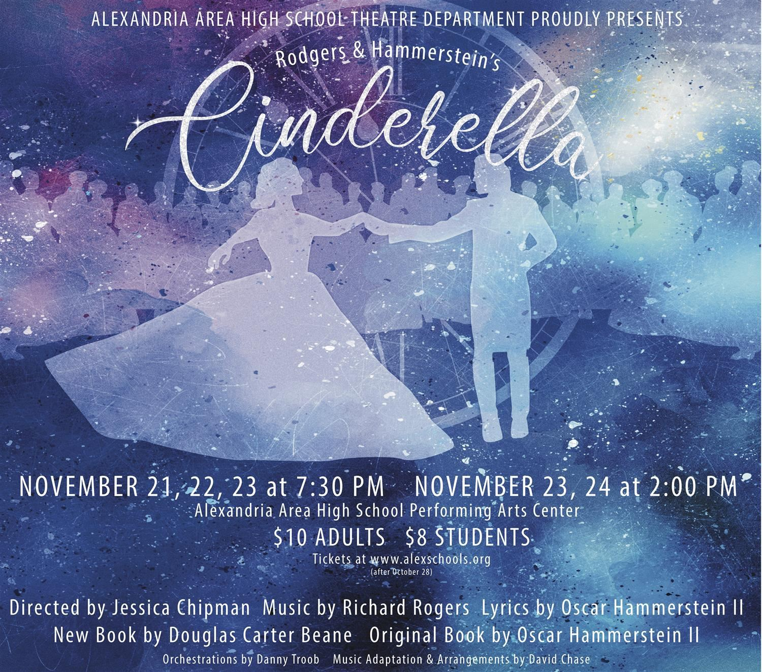 "Fall Musical ""Cinderella"" tickets on Sale Now!"