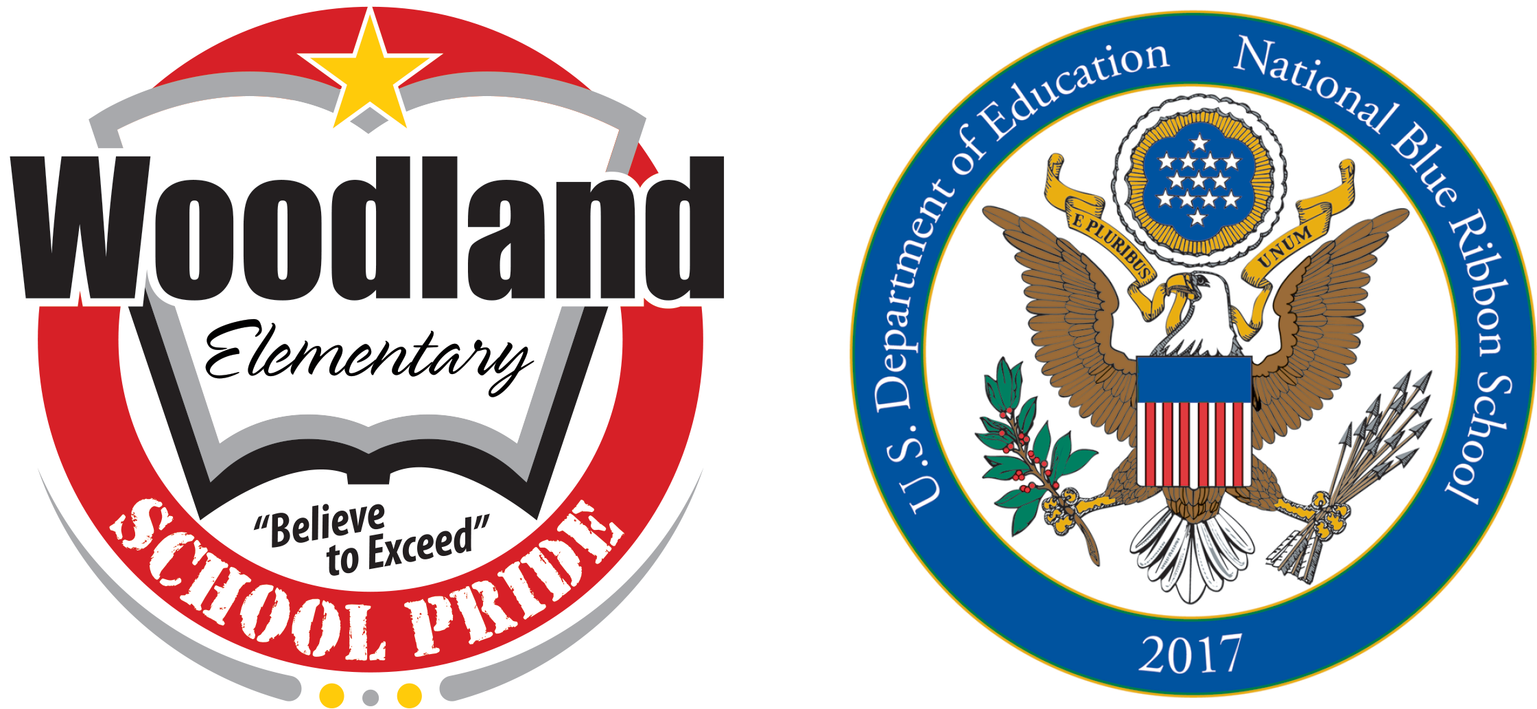 Woodland School logo